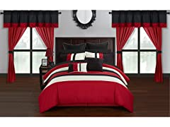 Chic Home Idit 24-Piece Comforter Set