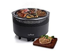 Smokeless Compact Charcoal BBQ Grill