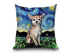 LiLiPi Chihuahua Pillow
