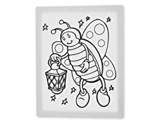 Betty the Butterfly Coloring Canvas