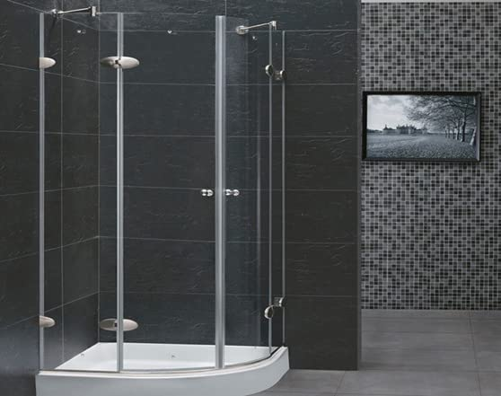 Vigo Medici 36x36 Frameless Shower Enclosure