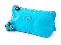 Kipling Creativity Small Pouch, Blue Topaz