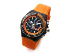 Black/Orange Men's Cruise Watch