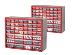 Akro-Mils 44-Drawer Hardware & Craft Cabinets