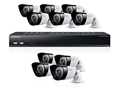 16-Channel / 10-Cam DVR Security System w/ 1TB HD