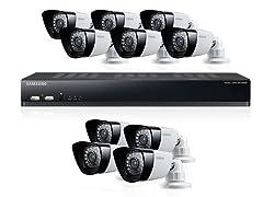 16-Channel / 10-Cam DVR Security System w/ 1TB HD