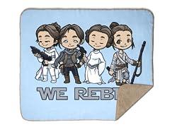 Rebellious Ladies Sherpa Blanket