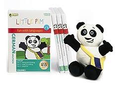 German for Kids: Language Box Set Volume I w/Panda Plush