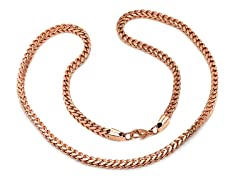 18kt Rose Gold plated Box Chain