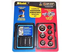 Complete Damaged Screw/Bolt Removal Kit