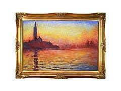 Monet - San Giorgio Maggiore by Twilight