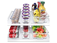 Sorbus Fridge and Freezer Organizer Bins