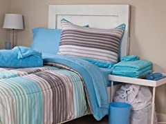 Monaco 26pc Reversible Dorm Set-Full