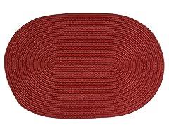 Brick Braided-Texture Rugs