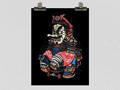 """Samurai Plumber"" Poster"