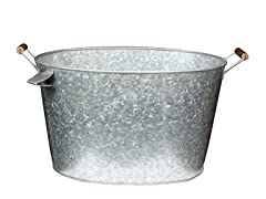 Galvanized Party Tub w/ Bottle Opener