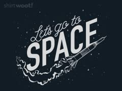 Let's go to SPACE