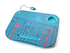 Doodle Flower Laptop Cushion w/ Light