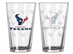 Texans Pint Glass 2-Pack
