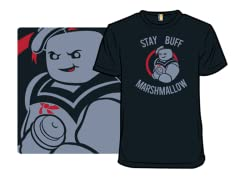 """Stay Buff Marshmallow"" T-Shirt"