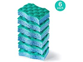 O-Cedar Multi-Use Scrunge Scrub Sponge, 6-Pack