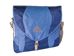 Kelty Messenger Style Blue Diaper Bag
