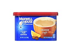 Maxwell House Orange Cafe Instant Beverage, 8ct