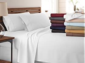 Home Collection Premium Ultra Soft 3 or 4PC Sheet Sets