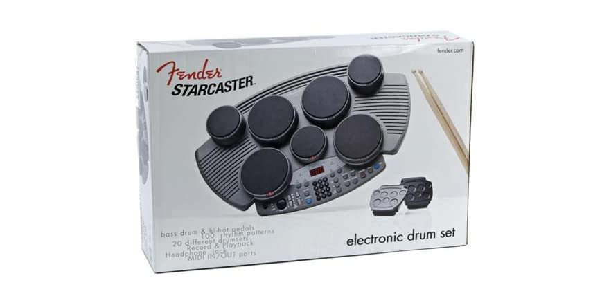 Fender Starcaster Electronic Table Top Drum Kit