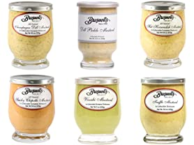 6 Pack Braswells Select Mustard Sampler