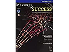 FJH Measures of Success Clarinet Book 1