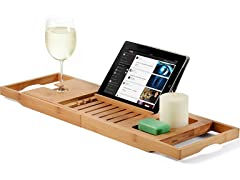 Bambusi Bamboo Bathtub Caddy Tray