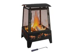 Landmann Haywood Fireplace, Black