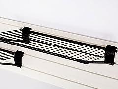 Flow Wall Bracket Shelf 2-Pack, Black