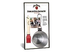 Jim Beam Stainless Steel Basting Pot Set