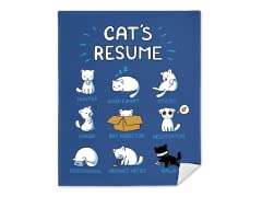 """Cat's Resume"" Blanket"