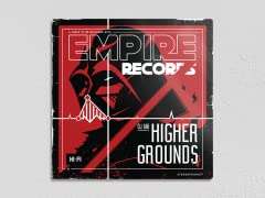 """Empire Records- Higher Grounds 12"""" x 12"""" Metal Poster"""