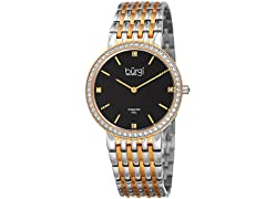 Burgi Women's Quartz Diamond Watch