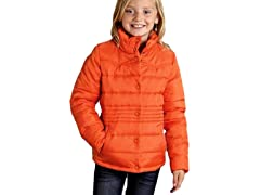 Orange Quilted Jacket (XS-XL)