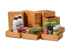 Core Bamboo 16-Pc Drawer Organizer Set
