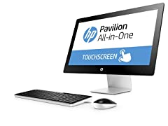 "HP Pavilion 27"" Intel i7 FHD Touch AIO Desktop"