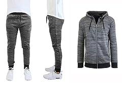 Men's Tech Fleece Marled Hoodie & Jogger