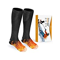 Deals on Balhvit Heated Socks for Men & Women Rechargeable Electric Socks