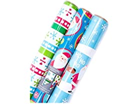 Hallmark Reversible Wrapping Paper, Kids