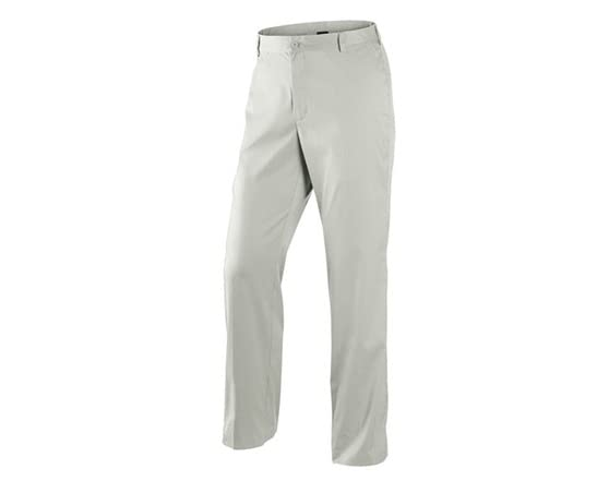 Nike dri fit flat front tech golf pants light bone