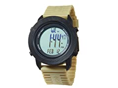 Basecamp Digital Watch - Black/Sand