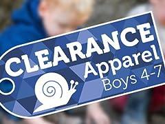 Apparel Clearance Boys (4-7)