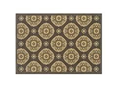 Tahiti Medallion  Rug-6 Sizes