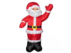 8' Standing Santa Claus Waving