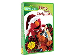 Sesame Street Elmo Saves Christmas DVD